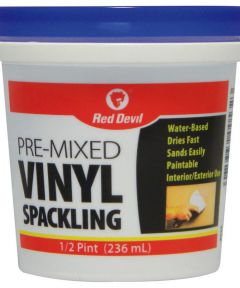 1/2 Pint Pre-Mixed Vinyl Spackling Compound