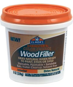 8 oz. Natural Carpenter's Color Change Wood Filler