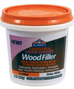 8 oz. White Carpenter's Color Change Wood Filler
