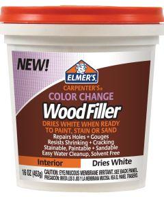 16 oz. White Carpenter's Color Change Wood Filler