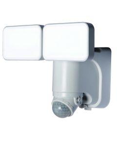 600 Lumen White Solar LED Motion Activated Security Light