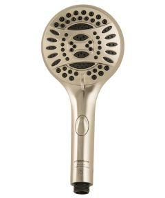 Brushed Nickel Handheld Shower Head With 5 ft. Hose