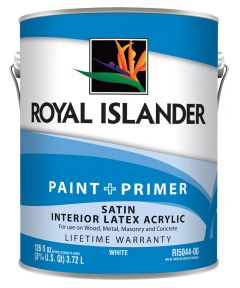 1 Gallon Interior Satin Tint Base Paint + Primer
