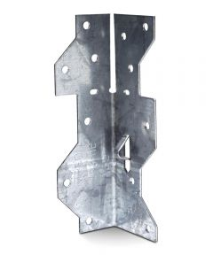 1-7/16 in. x 4-1/2 in. 18 Gauge Galvanized Framing Angle with ZMAX Coating