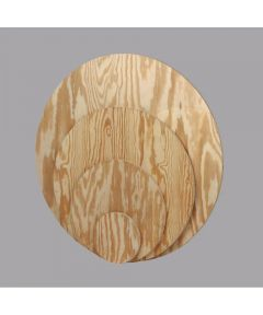 Plywood HP 3/4 in. x 24 in. Round
