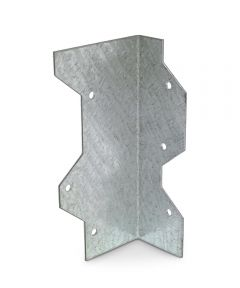 5 in. 16 Gauge Galvanized Reinforcing L Angle with ZMAX Coating