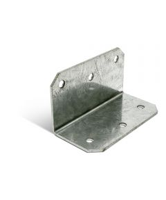 2 in. x 4 in. 12 Gauge Galvanized Medium L Angle with ZMAX Coating
