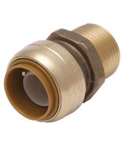 3/4 in. x 1/2 in. MNPT Bullnose Connector