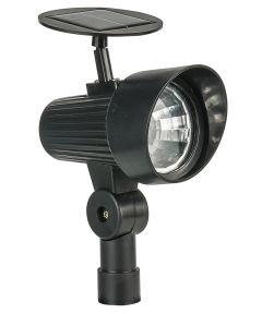 4.72 in. x 3.5 in. x 12.4 in. Black 15 Lumen Spotlight