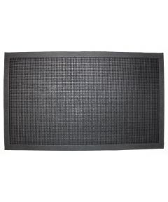J & M Home Fashions Rubber Knobby Doormat 18x30