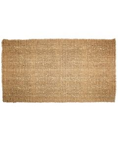 J & M Home Fashions Plain Tile Loop Coco Doormat 14x24