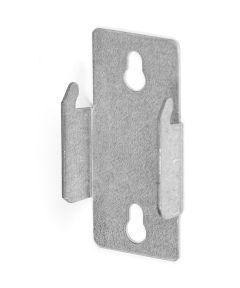 Zinc Plated Heavy Duty Double Curtain Rod Brackets 2 Count