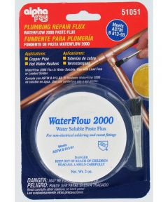 Water Soluble Flux & Brush