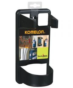 Black Plastic Utility Torch Holder