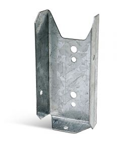20 Gauge Galvanized Fence Rail Bracket for 2x4 with ZMAX Coating