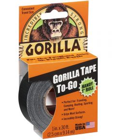 Gorilla Tape To-Go, 1 in. x 30 ft.