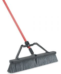 24 in. Rough Surface Heavy Duty Push Broom