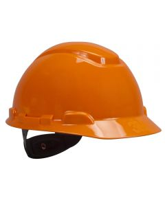 Orange 4 Point Ratchet Suspension Hard Hat