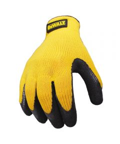 DEWALT Texture Rubber Coated Gripper Glove, Large