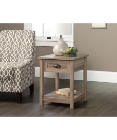 County Line Nightstand, Salt Oak Finish