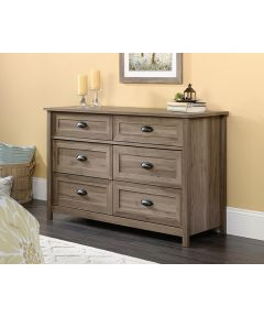 County Line Dresser, Salt Oak Finish