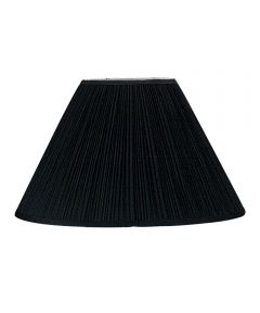 LAMPSHADE PLTD BLK 7x17x11.5 in.H