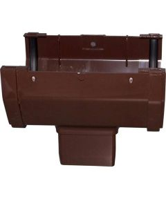 Gutter Drop Outlet Brown 30 Pieces