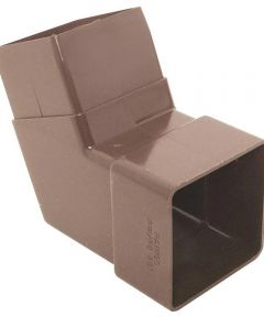 Downspout Elbow Brown PVC 100 Pieces