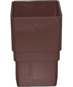 Downspout Coupler Brown 15 Pieces