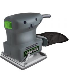 Genesis Corded Palm Sander, 120 VAC, 1.3 A, 10000 opm