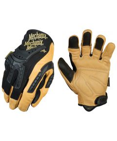 Extra Large Brown/Black Leather Cg 40 Heavy Duty Work Glove