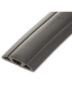 5 ft. 3-Channel Cord Protector & Concealer, Dark Gray