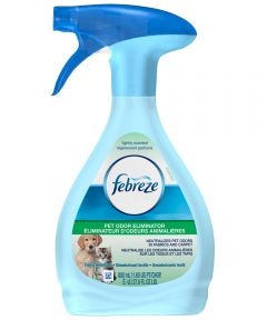 Febreze Pet Odor Eliminator Fabric Refresher, 27 oz., Trigger Spray Dispenser, Fresh Scent, 6.5 - 6.9 pH