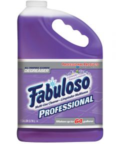 Fabuloso Long Lasting All Purpose Cleaner, Professional Formula, 1 gal, Bottle, Purple, Liquid, Lavender