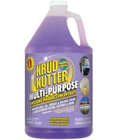 Krud Kutter Concentrated Pressure Washer Cleaner, 1 gal, Light Purple, Liquid