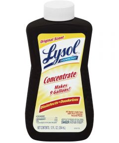 Lysol Concentrated Disinfectant Cleaner, Original Scent, 12 oz.