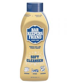 Bar Keepers Friend Anti-Bacterial Bath/Kitchen Cleaner, 26 oz., Bottle, White, Liquid, Citrus