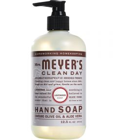 Mrs. Meyer's Clean Day Hand Soap, Lavender Scent, 12.5 oz.