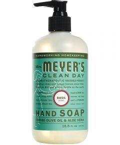 Mrs. Meyer's Clean Day Hand Soap, Basil Scent, 12.5 oz.
