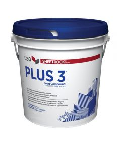 Sheetrock Brand Plus 3 Premixed Lightweight Drywall Joint Compound, 3.5 Quarts