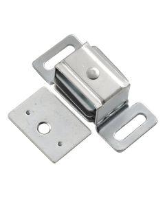 1-7/8 in. Cadmium Double Stack Magnetic Cabinet Door Catch