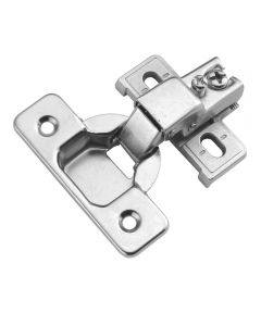 1/2 in. Overlay Polished Nickel 2-Piece Concealed Face Frame, 10 Pack