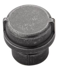 1-1/4 in. Black Nickel Vibed Pipeline Cabinet Knob