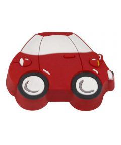 1-13/16 in. x 1/2 in. Red Car Kids ft. Corner Cabinet Knob