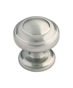 1-1/4 in. Satin Nickel Zephyr Cabinet Knob