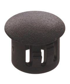 Black Nylon Hole Plug (Fits 3/16 in. Hole)
