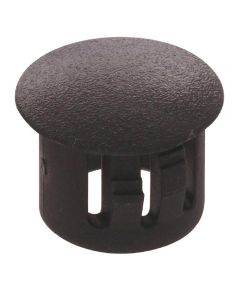 Black Nylon Hole Plug (Fits 7/16 in. Hole)