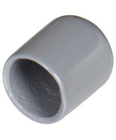 Gray Vinyl Thread Protector (Fits 1/2 in. Screw)