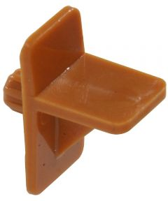 Square Tan Shelf Pin (5/16 in. Pin Length Fits 5mm Hole)