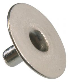 Nickel-Plated Brass Eyelet Snap (1/4 in.)
